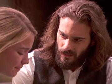 """Isaac consuela a Antolina: """"Yo estaré siempre junto a ti"""""""