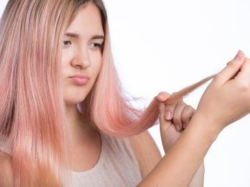 Problemas con el pelo teñido