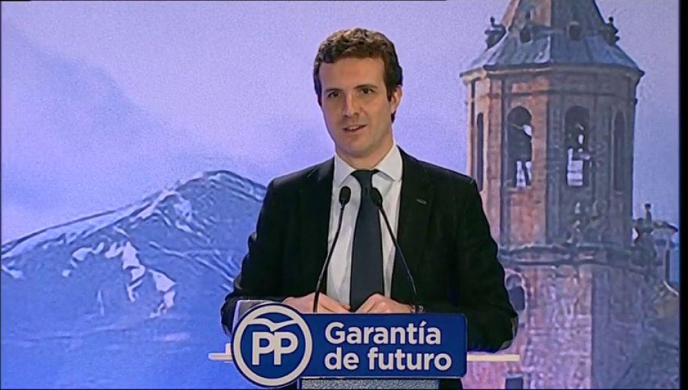 Casado califica de catastróficos los 200 días de Sánchez en la Moncloa