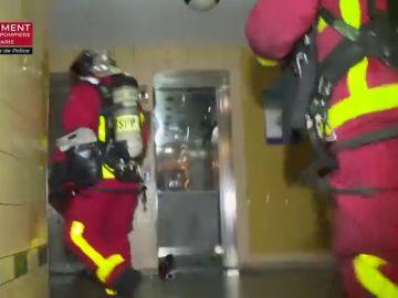 Tragedia en Francia: Mueren una mujer y sus dos hijas pequeñas en un incendio