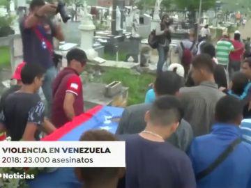 Violencia en Venezuela: 23 mil asesinatos en 2018