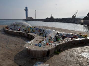 La ballena de Níjar, homenaje a Gariel Cruz