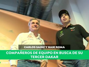 "Carlos Sainz y Nani Roma hablan sobre la dureza del Dakar 2019: ""Las etapas de dunas son muy intensas"""