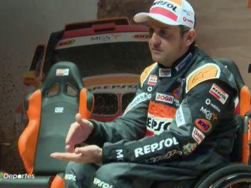 """Isidre Esteve, con ganas de disputar su 14º Dakar: """"Es el máximo exponente de deporte inclusivo"""""""