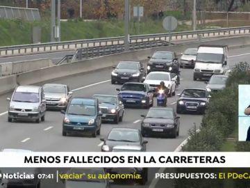 2018 deja el primer descenso de muertes en carretera de los últimos tres años