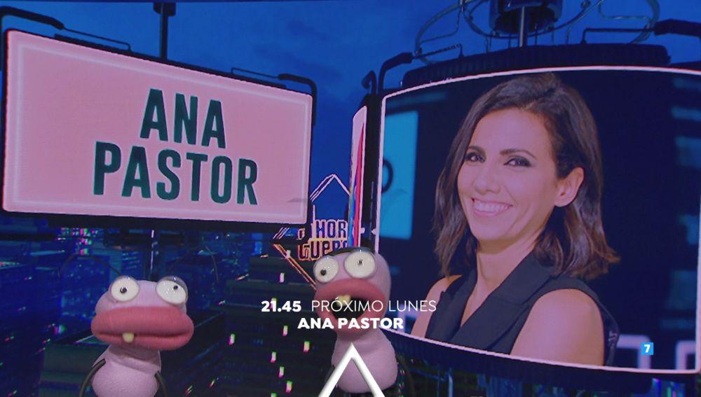 La próxima semana vuelve 'El Hormiguero 3.0' a Antena 3 con la visita de Ana Pastor