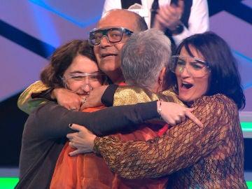 Espectacular pleno de 'Tu extremis me suena' con Montse, Cristina, José Corbacho y Silvia Abril