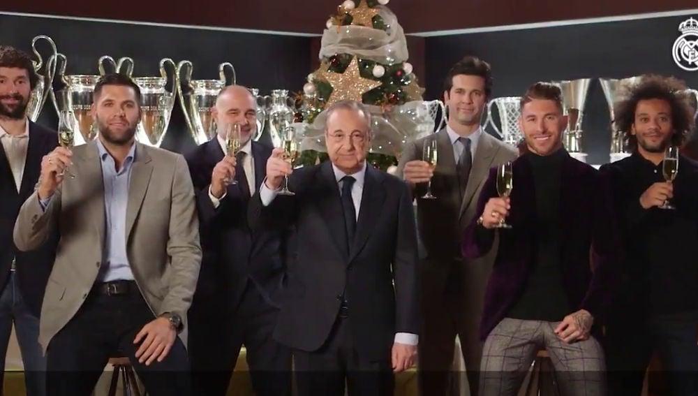 El Real Madrid felicita el Año Nuevo