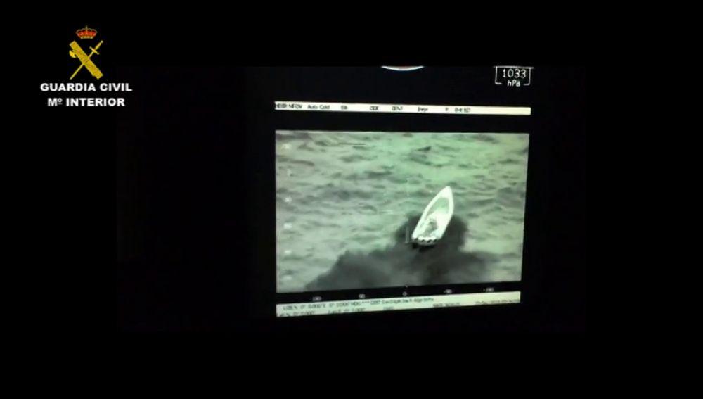 42 detenidos en dos operaciones contra el tráfico de hachís en el Estrecho