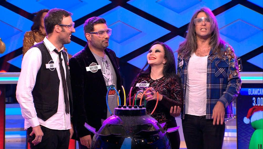 La intuición y el show de Mario Vaquerizo, protagonistas de la cuarta bomba de los 'Glamcampers'