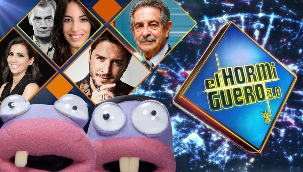 Comenzamos el año en 'El Hormiguero 3.0' con las visitas de Ana Pastor, Toni Cantó, Almudena Cid, Manuel Carrasco y Miguel Ángel Revilla