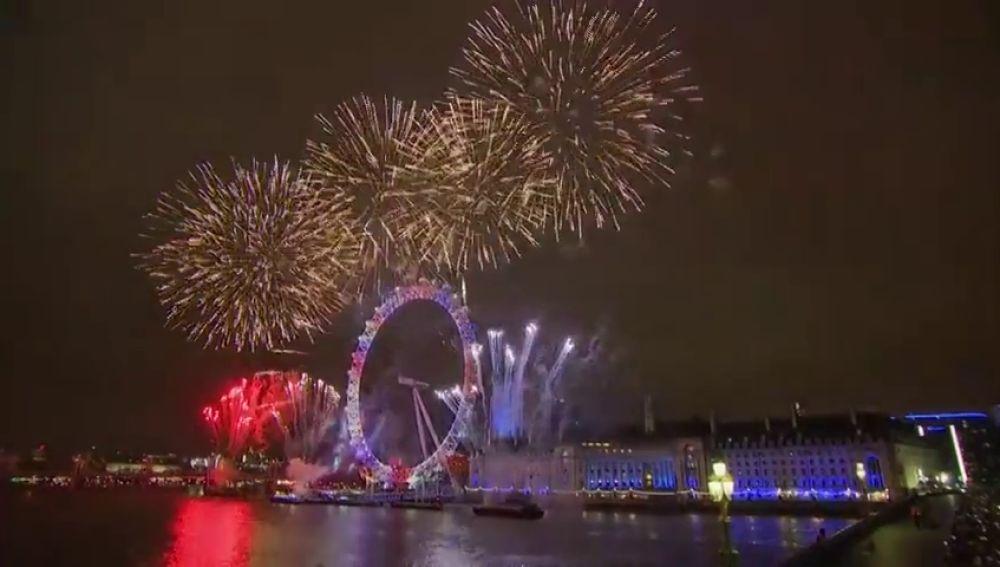 año nuevo Londres