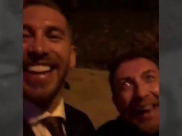 """Sergio Ramos y Pablo Motos, juntos para celebrar la llegada de 2019: """"¡Espera que voy!"""""""