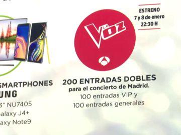 Numerosos roscones de Reyes esconden entradas para el concierto de La Voz