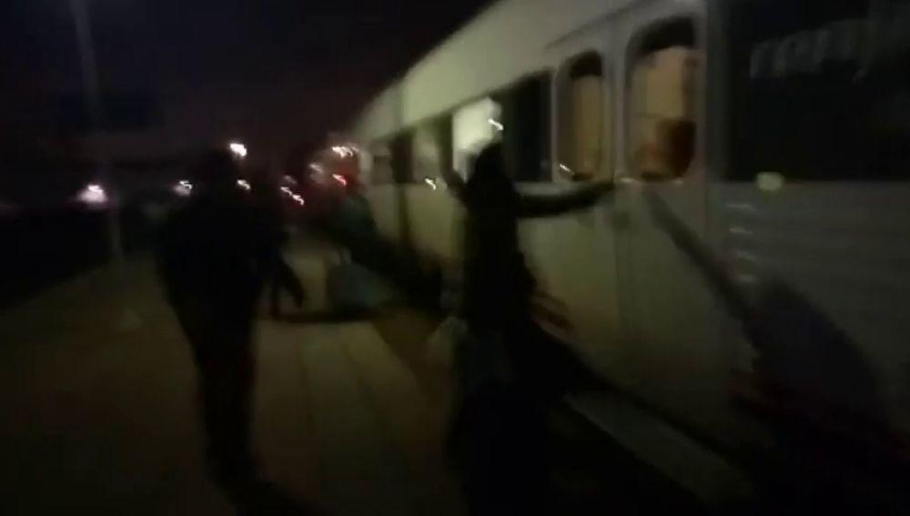 Así relata una videoaficionada las incidencias del tren extremeño de la 'vergüenza'