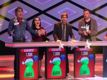 Mario Vaquerizo, Alaska, Héctor y Javi se alzan con la victoria en un intenso duelo contra 'Tu extremis me suena'