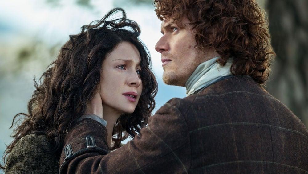 Claire y Jamie de 'Outlander'