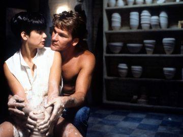 Demi Moore y Patrick Swayze en 'Ghost'