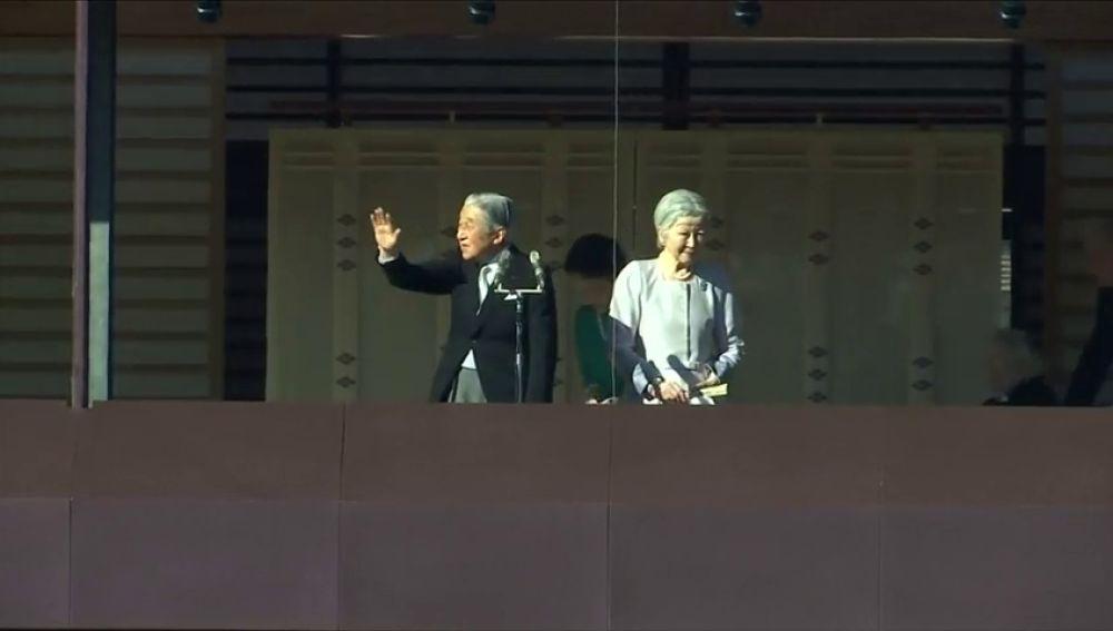 El emperador japonés Akihito pronuncia su último discurso de Año Nuevo