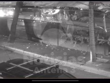 Imágenes en exclusiva del momento del atropello en Barcelona