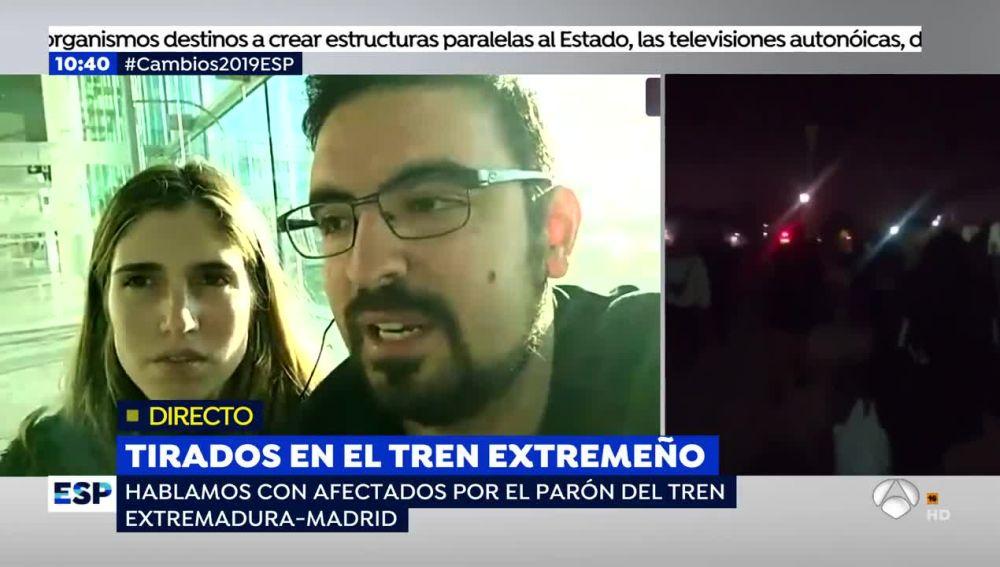 Afectados por el tren de Extremadura