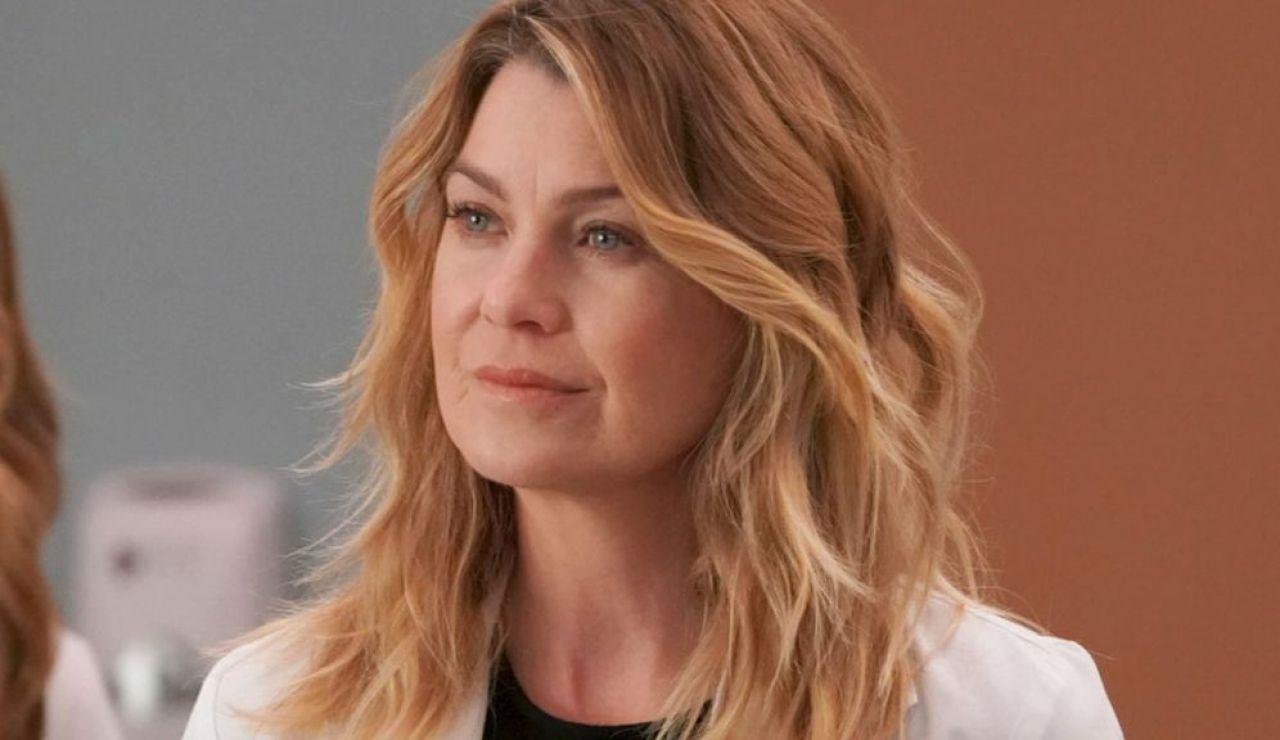 Ellen Pompeo como Meredith Grey en 'Anatomía de Grey'