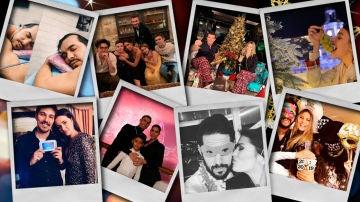 Los famosos recibieron así el año nuevo