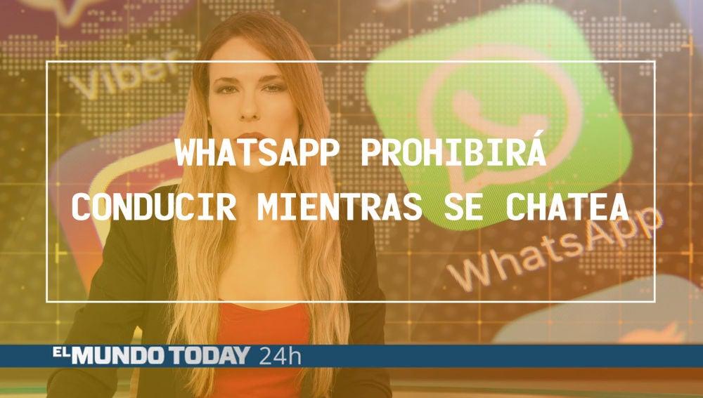 WhatsApp prohibirá conducir mientras se chatea