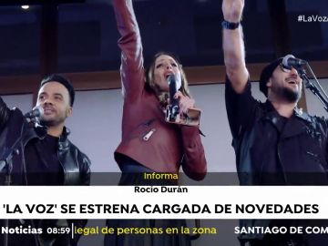 'La Voz' se estrena en Antena 3 cargada de novedades