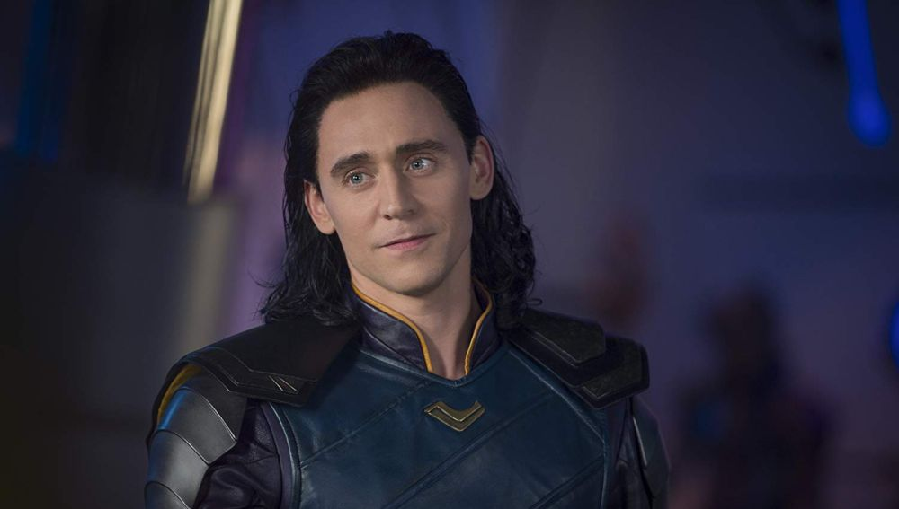 Tom Hiddleston como Loki en 'Thor Ragnarok'