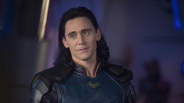 Tom Hiddleston como Loki en 'Thor Ragnarok'