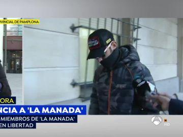 Los cinco miembros de 'La Manada' quedan en libertad provisional