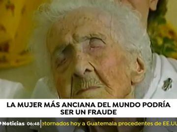 La mujer más anciana del mundo, podría ser un fraude