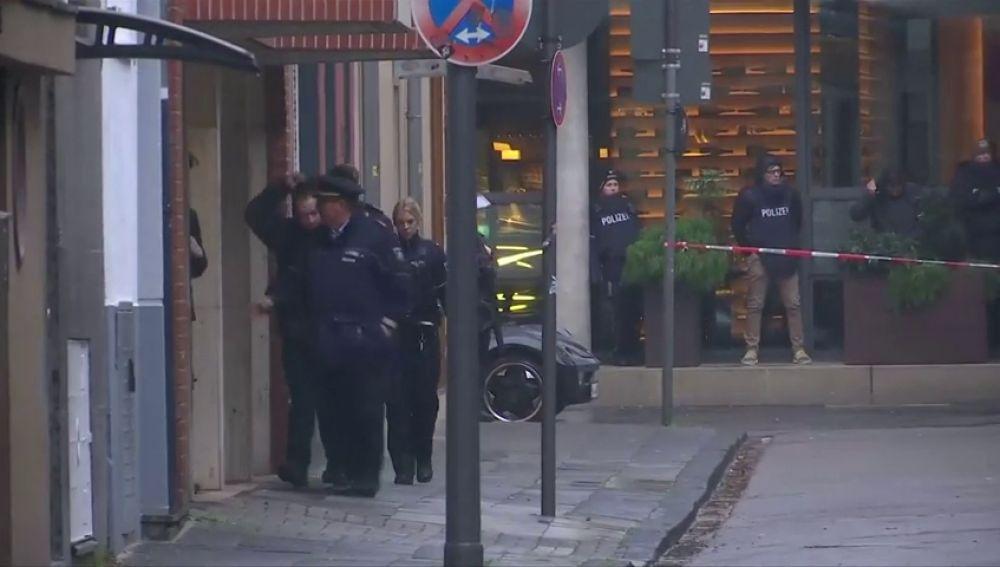 Un detenido tras un tiroteo en el centro de la ciudad alemana de Colonia por una pelea