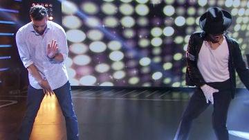 Pablo Puyol baila como Michael Jackson en 'Hipnotízame'