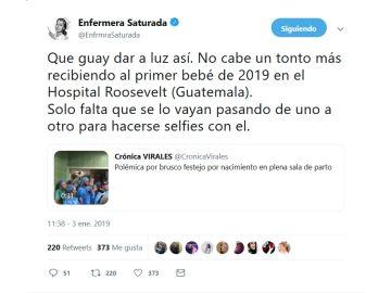 Polémico vídeo en Twitter