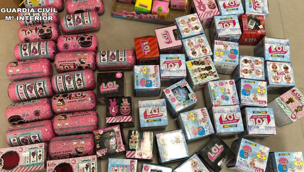 La Guardia Civil retira del mercado 1.757 juguetes peligrosos