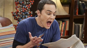 Jim Parsons como Sheldon en 'The Big Bang Theory'