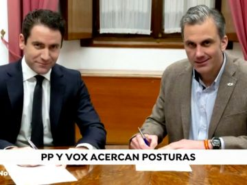 PP y Vox seguirán negociando el próximo martes tras acercar posturas con ayudas para hombres víctimas de violencia doméstica