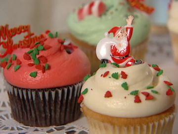 Magnolia Bakery y los cup cakes navideños