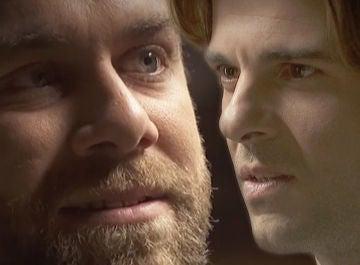 Fernando y Gonzalo, cara a cara en 'El secreto de Puente Viejo'