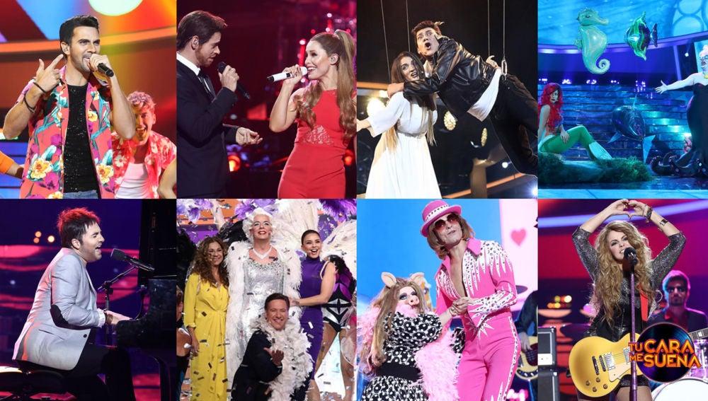 ¡Vota por la mejor actuación del Concierto de Año Nuevo de 'Tu cara me suena'!