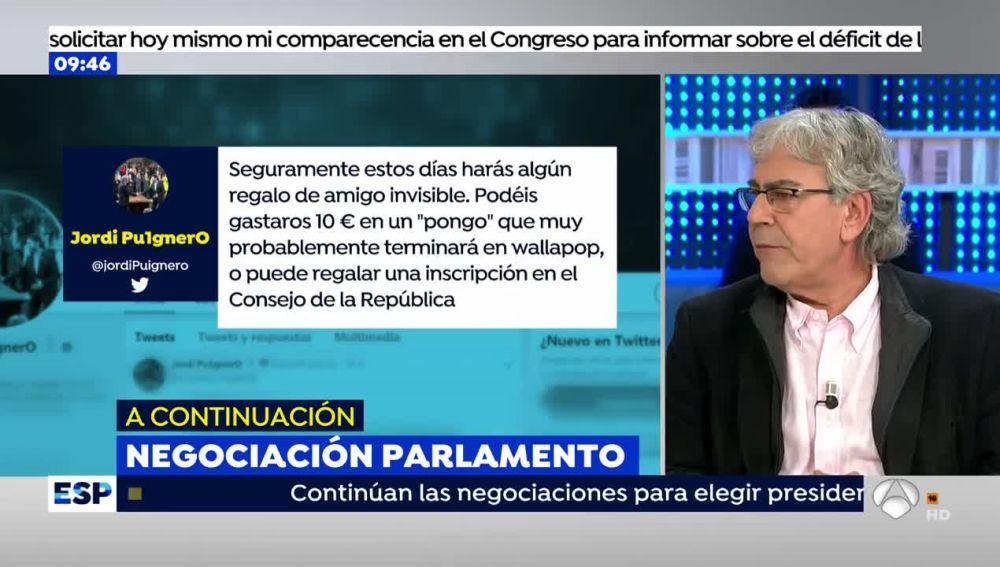 Puigdemont pide dinero para su proyecto independentista
