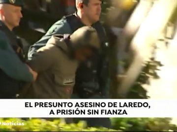 Ordenan el ingreso en prisión del asesino confeso de la joven apuñalada en Laredo