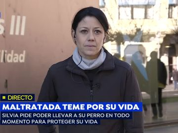 Mujer amenazada
