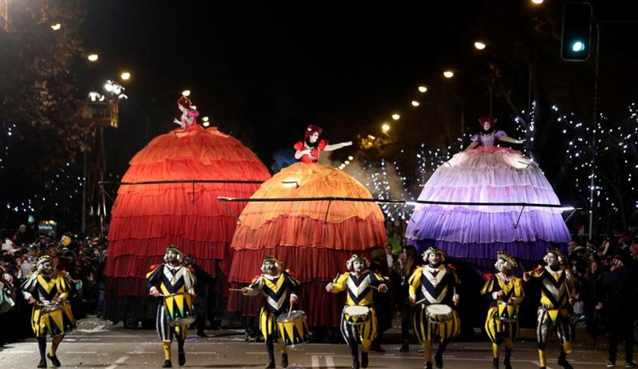 Cabalgata de los Reyes Magos de Madrid