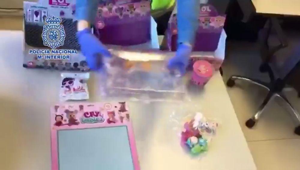 La Policía Nacional interviene en Madrid más de 172.000 juguetes falsos y peligrosos para los menores