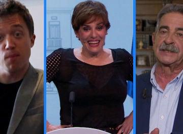 Las primeras reacciones de Iñigo Errejón y Miguel Ángel Revilla tras la elección de Anabel Alonso como presidenta del Gobierno