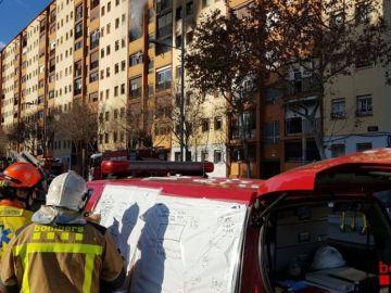 Noticias Fin de Semana (05-01-19) Un incendio en un edificio de Badalona deja tres muertos y una veintena de heridos