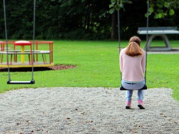 Chica triste (Archivo)